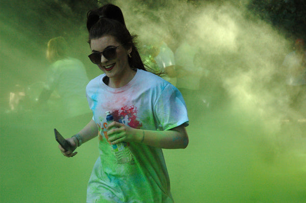 How to fundraise at your next colour powder event