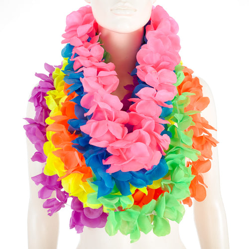 colourful leis garlands