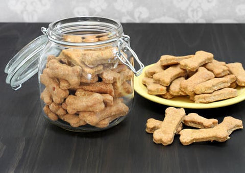 Homemade dog biscuits to drool over