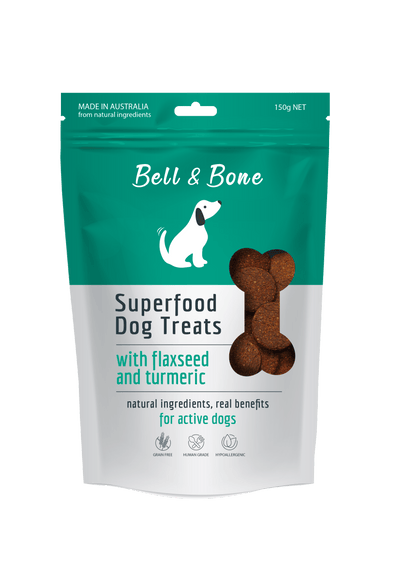 BELL AND BONE <span> FLAXSEED AND TUMERIC </span> 150 GRAMS