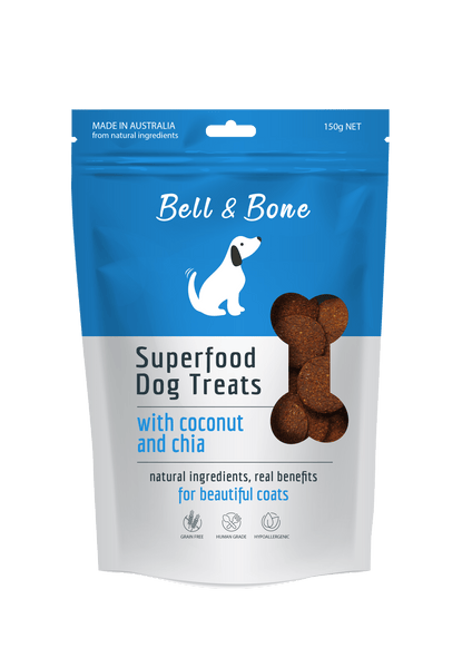Bell And Bone Coconut And Chia 150g - Petzyo