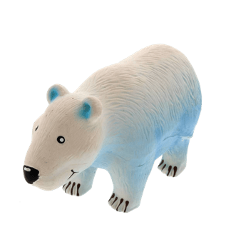 K9 - Grunting Polar Bear - Latex Dog Toy - Petzyo