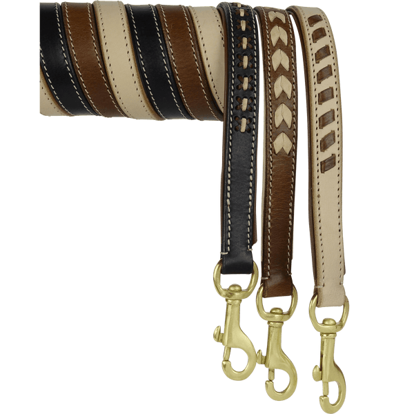Dogue Leather Dog Leads - One Size - Petzyo