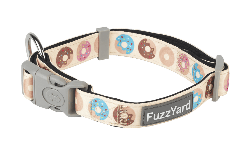 Fuzzyard Dog Collar - Go Nuts - Multiple Sizes - Petzyo