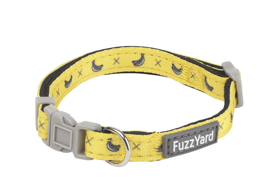 Fuzzyard Dog Collar - Monkey Mania - Multiple Sizes - Petzyo