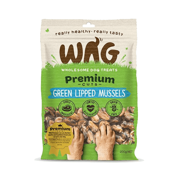 Get Wag - Green Lipped Mussels 50g - Petzyo