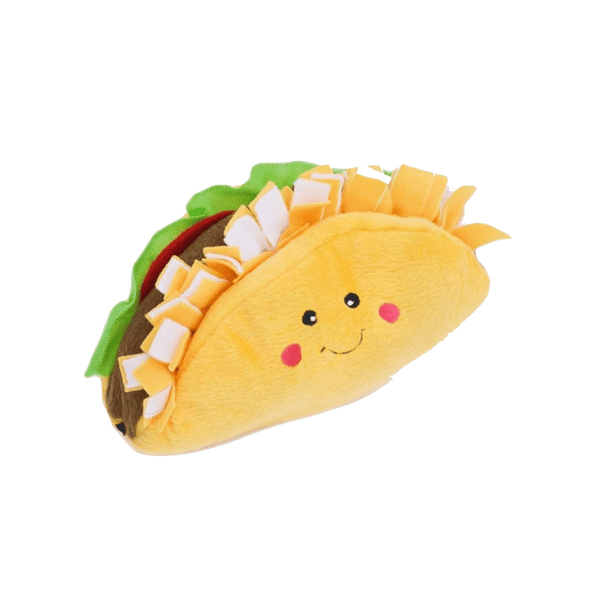 Zippy Paws Co Plush Toy Taco - Petzyo
