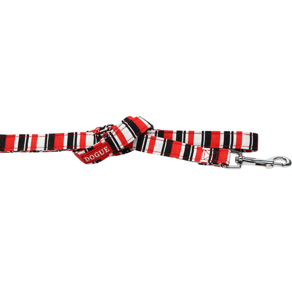 Dogue Striped Lead 120cm * 15mm - Petzyo