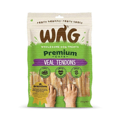 Get Wag <span> Veal Tendons </span> Multiple Sizes - Petzyo