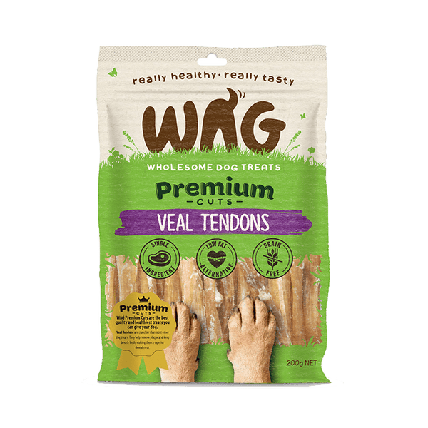 Get Wag - Veal Tendons - Multiple Sizes - Petzyo