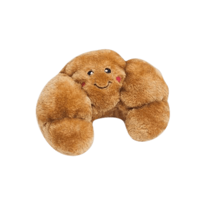 Zippy Paws - Plush Toy for Dogs - Croissant - Petzyo