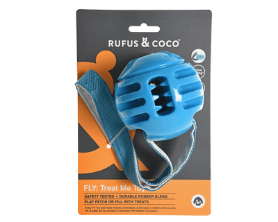 RUFUS & COCO <span> FLY: TREAT ME TOY </span> MULTIPLE COLOURS