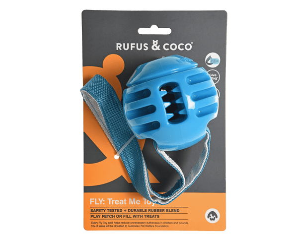 Rufus & Coco - Fly Treat Me Toy - Multiple Colours - Petzyo
