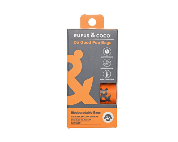 Rufus & Coco Do Good Dog Poo Bags - Petzyo