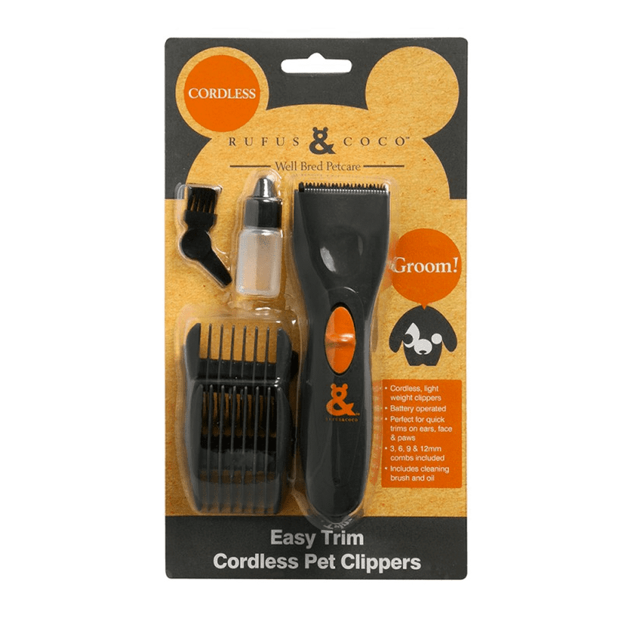 Rufus & Coco - Trim Pet Clippers & File - Petzyo