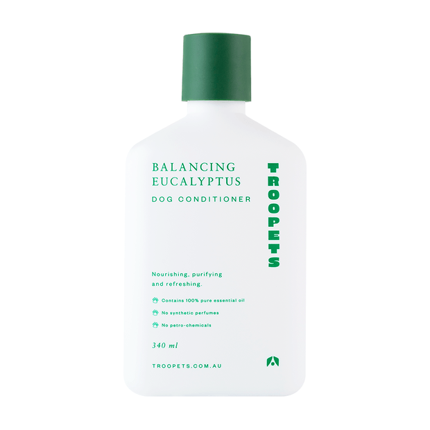 Troopets - Balancing Eucalyptus Dog Conditioner 340ml - Petzyo