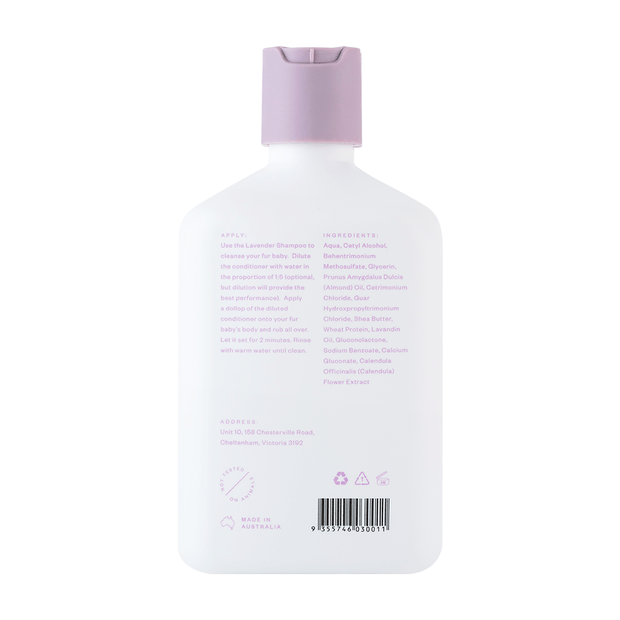 Troopets - Soothing Lavender Dog Conditioner 340ml - Petzyo