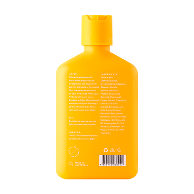 Troopets - Lemon Myrtle Relief Dog Shampoo 340ml - Petzyo