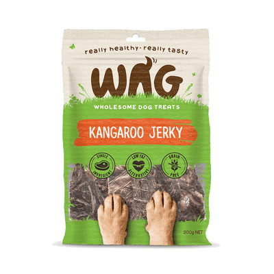 Get Wag - Kangaroo Jerky - Multiple Sizes - Petzyo