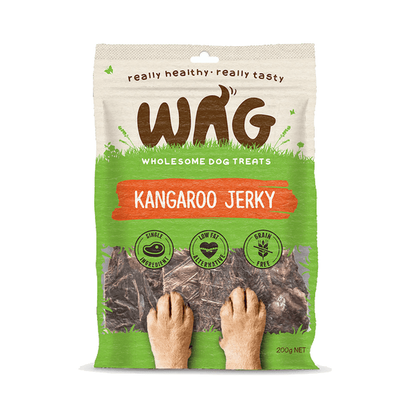 Get Wag Kangaroo Jerky Multiple Sizes - Petzyo