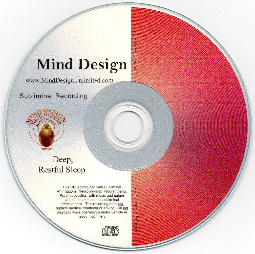 Deep and Restful Sleep - Subliminal Audio Program - Get Better, More Quality Sleep: Naturally!!