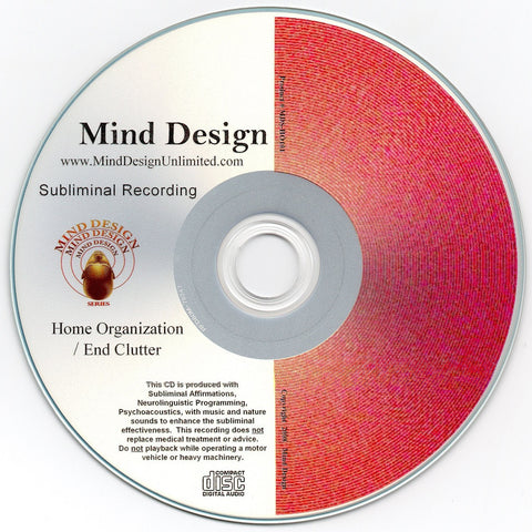 Home Organization / End Clutter - Subliminal Audio Program - Organize Your Home and Get Rid of Clutter