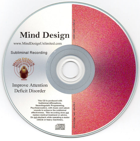 Improve Attention Deficit Disorder ADD / ADHD - Subliminal Audio Program - Control ADD / ADHD Symptoms More Naturally
