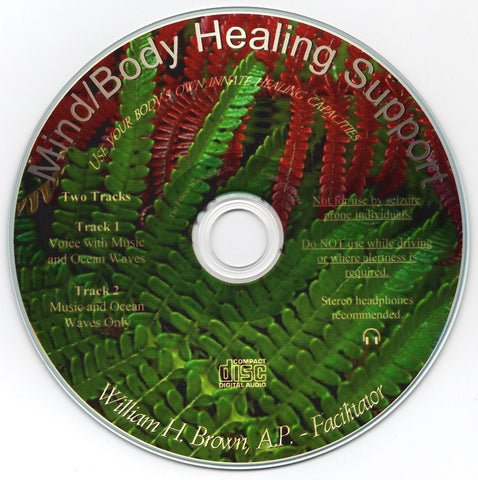 Mind / Body Healing - Guided Imagery - Wm. H. Brown A.P.  - World Renown Guided Imagery Recording