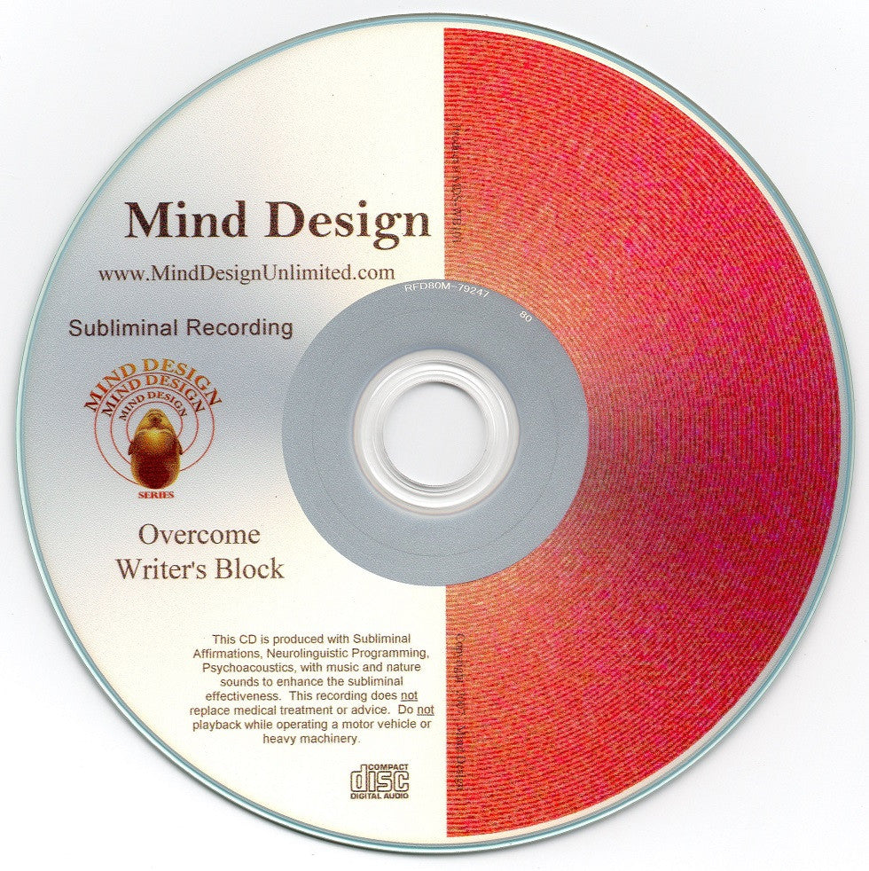 Overcome Writer's Block - Subliminal Audio Program - Rid Yourself of Writer's Block Naturally