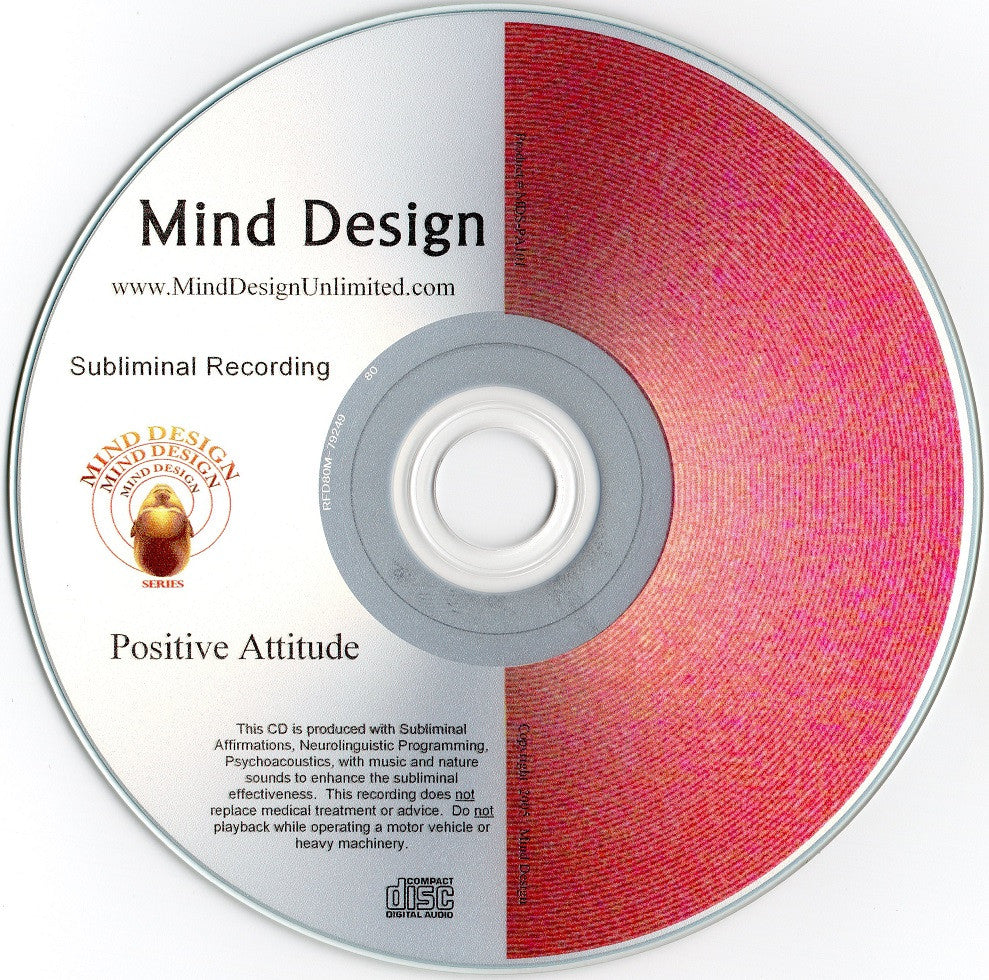 Positive Attitude - Subliminal Audio Program - Develop More Optimism and Feel Better