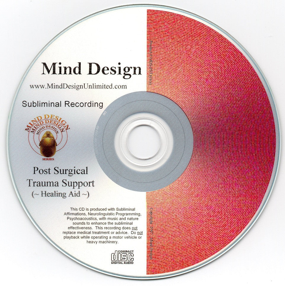 Post-Surgical Healing Aid - Subliminal Audio Program - Post-Surgery Trauma Healing Recovery