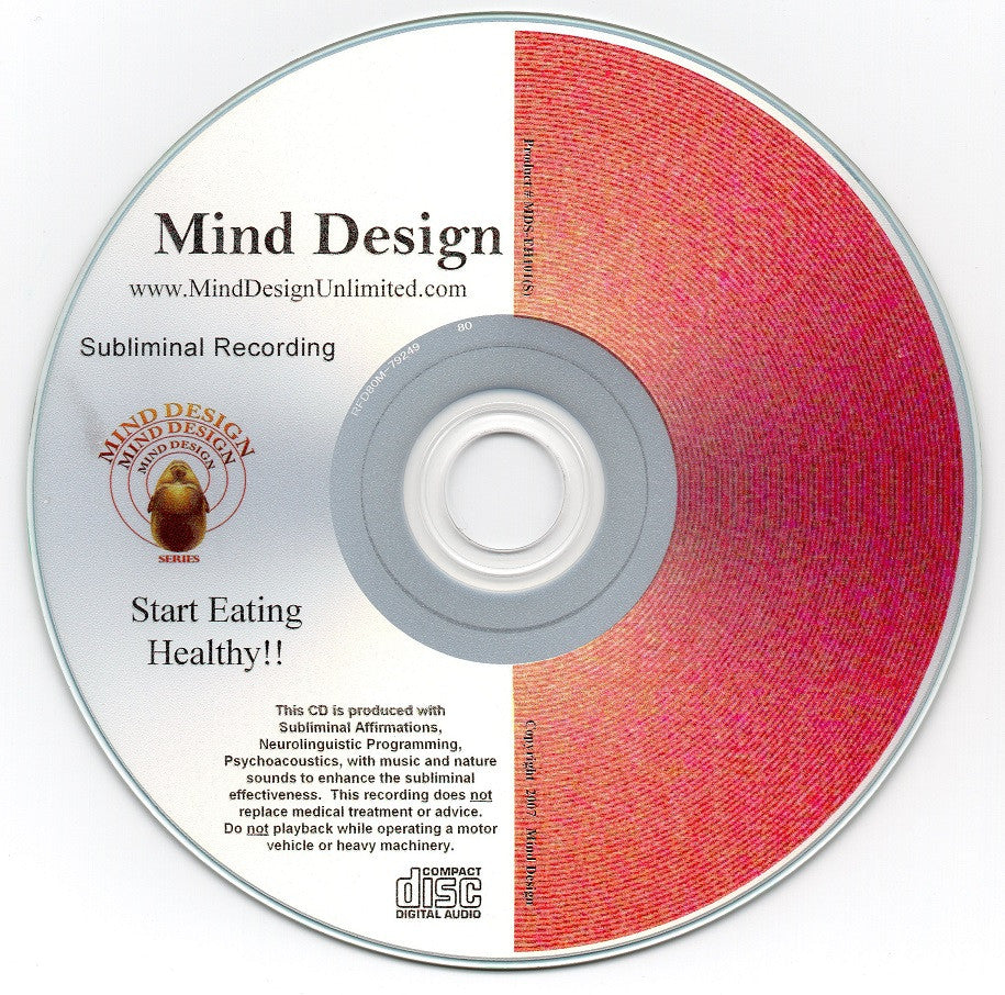 Start Eating Healthy - Subliminal Audio Program - Make Healthier Food Choices More Naturally