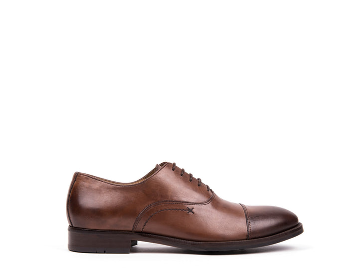 Oxford  Cap Toe // Brown Leather