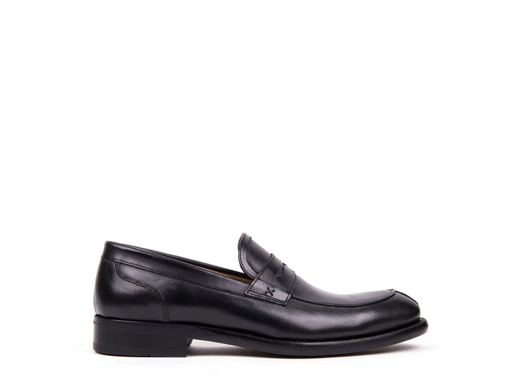 Penny Loafers // Black Leather