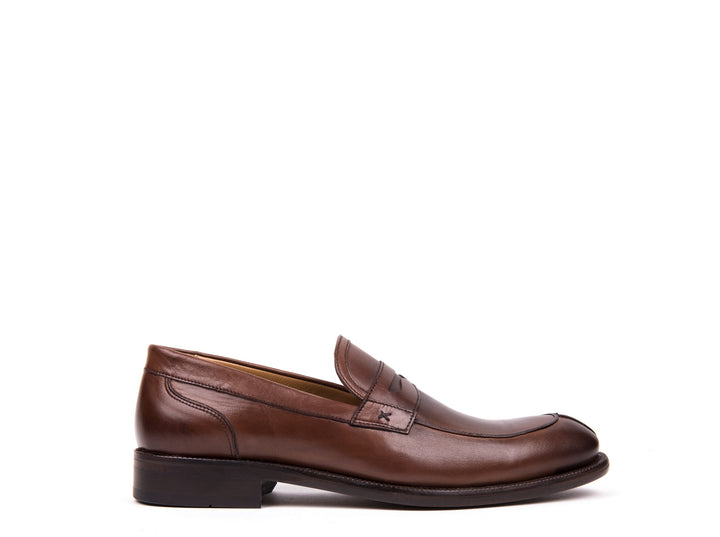 Penny Loafers // Brown Leather