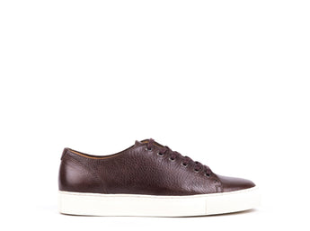 Sneakers // Dark Brown Leather