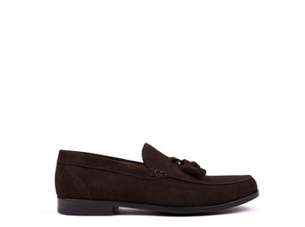 Mocassins // Dark Brown Suede