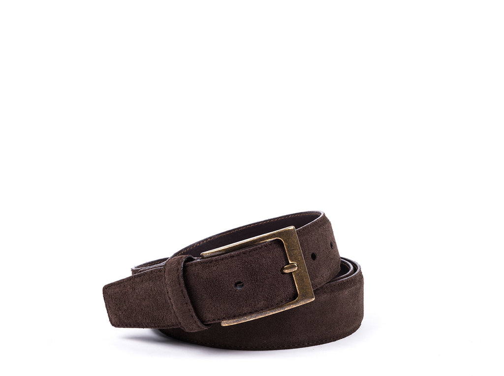 Belt // Brown Suede