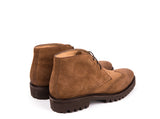 Brogue Boots // Brown Suede