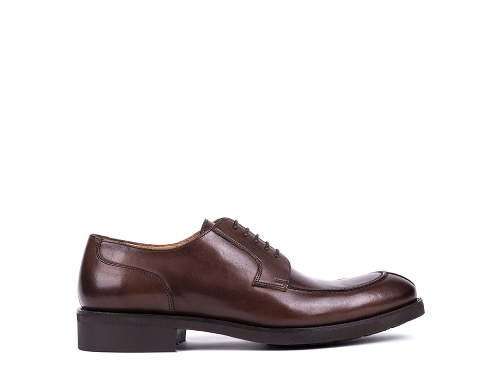 Derby // Dark Brown Leather
