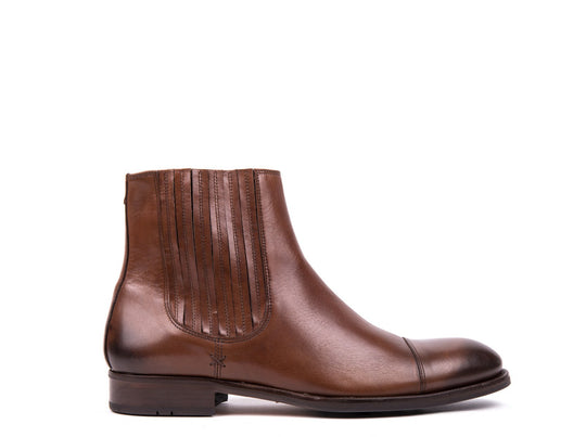 Boots // Dark Brown Leather