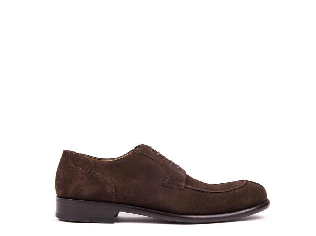 Derby // Dark Brown Suede