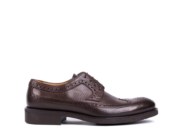 Brogue  // Dark Brown Leather
