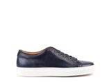 Sneakers // Dark Blue Leather