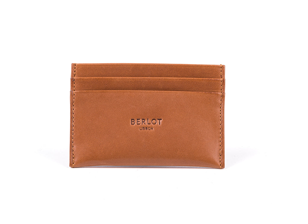 Card Holder // Camel Leather