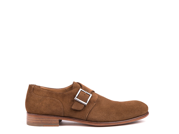 Monk Strap // Brown Suede