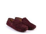 Car Shoes // Bordeaux Suede