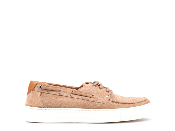 Boat Sneakers // Taupe Suede