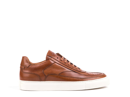 Sneakers // Camel Leather
