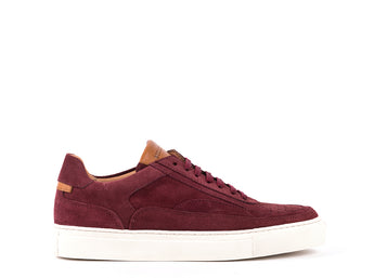 Sneakers // Bordeaux Suede